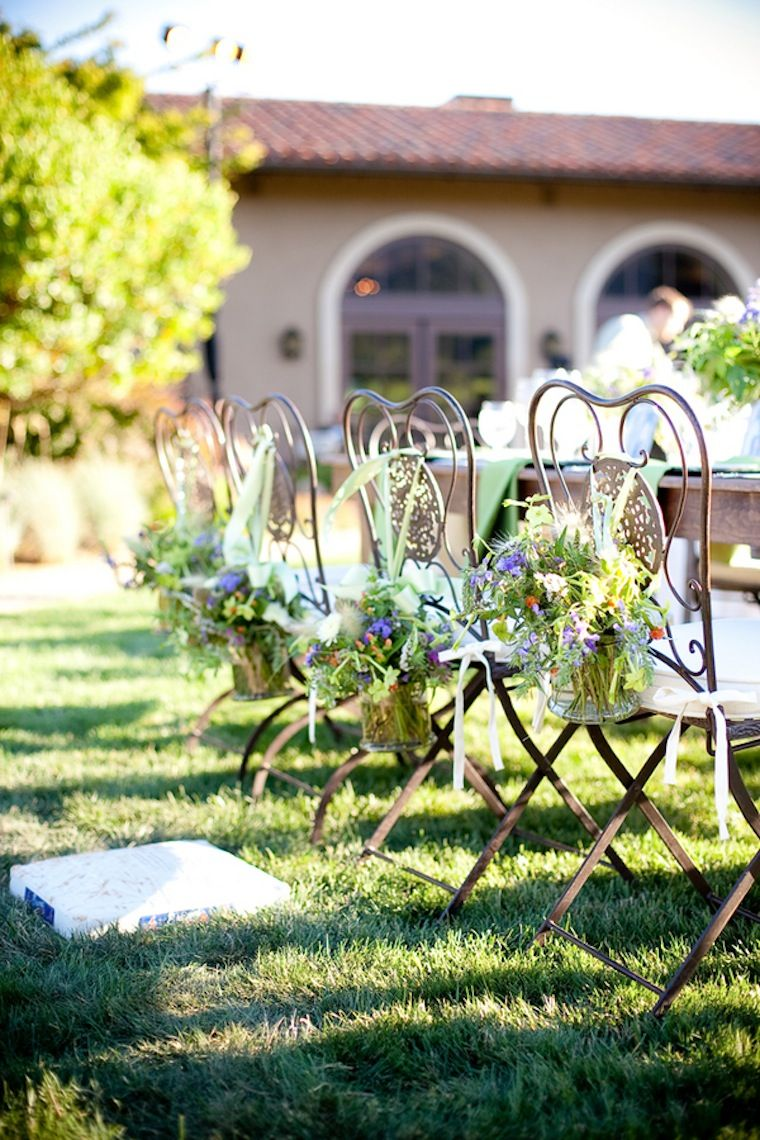 Rustic And Whimsical California Wedding