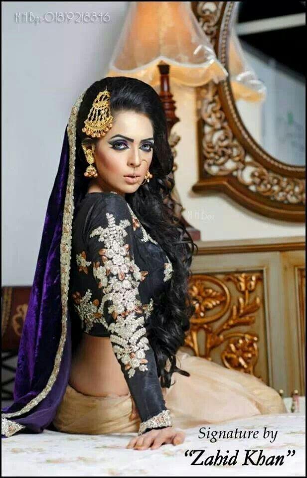 Zahid Khan Makeover In Dhaka Bangladesh Hair Down Bengali Wedding