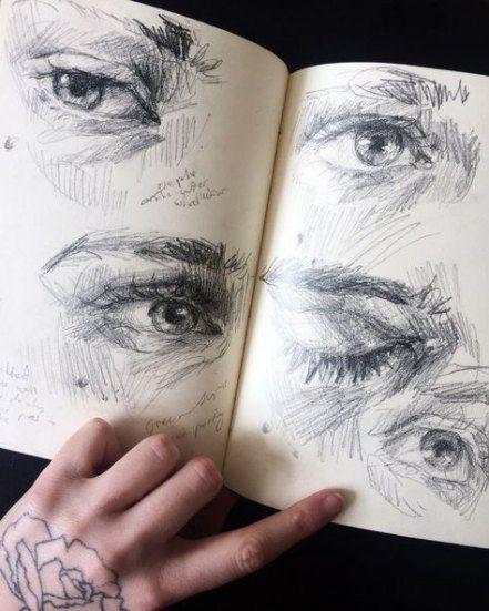 Art Sketchbook Eyes Journal Pages 67 Ideas Art With Images