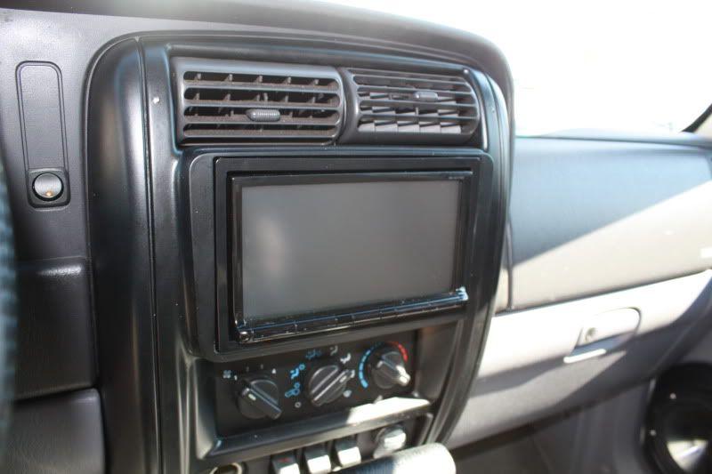 2din Deck Install In A 97 Naxja Forums North American Xj Association Jeep Wj Jeep Xj Deck