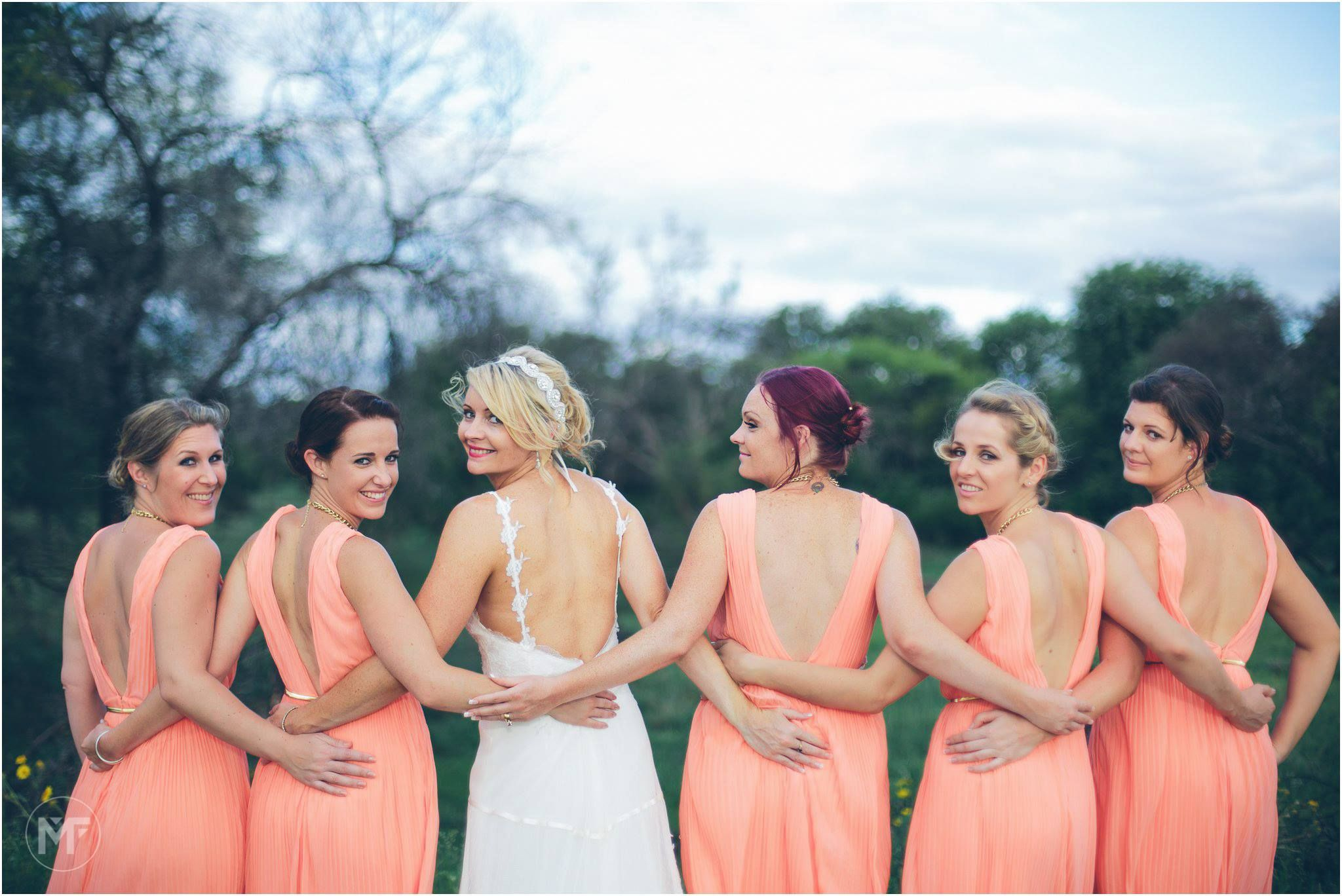 Coral bridesmaid dresses photo shoot in the bushveld weddings coral bridesmaid dresses photo shoot in the bushveld ombrellifo Images