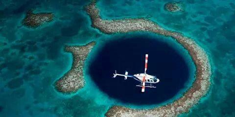 El Gran Agujero Azul Belice Great Blue Hole Blue Hole Blue Hole Belize