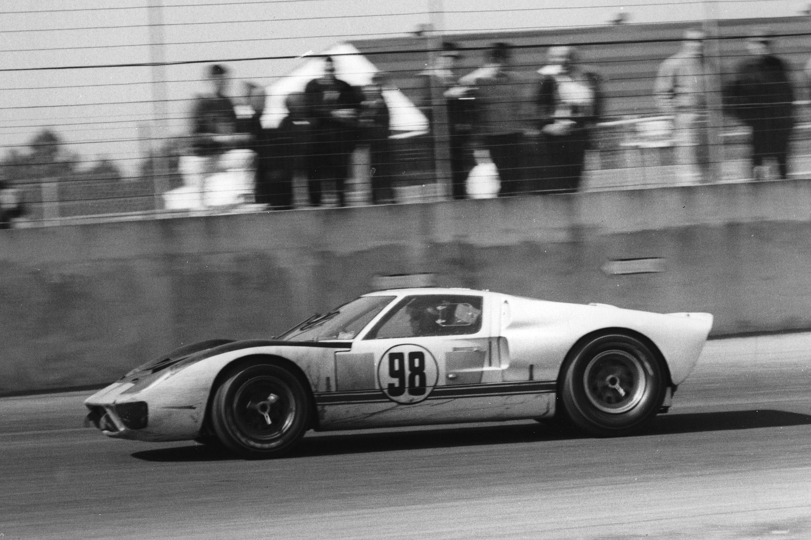 Winner Of The 1966 Daytona Continental 98 Ford Gt40 Driven By