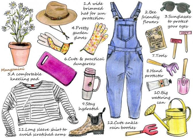 """Image result for gardening style CLOTHES"""""""