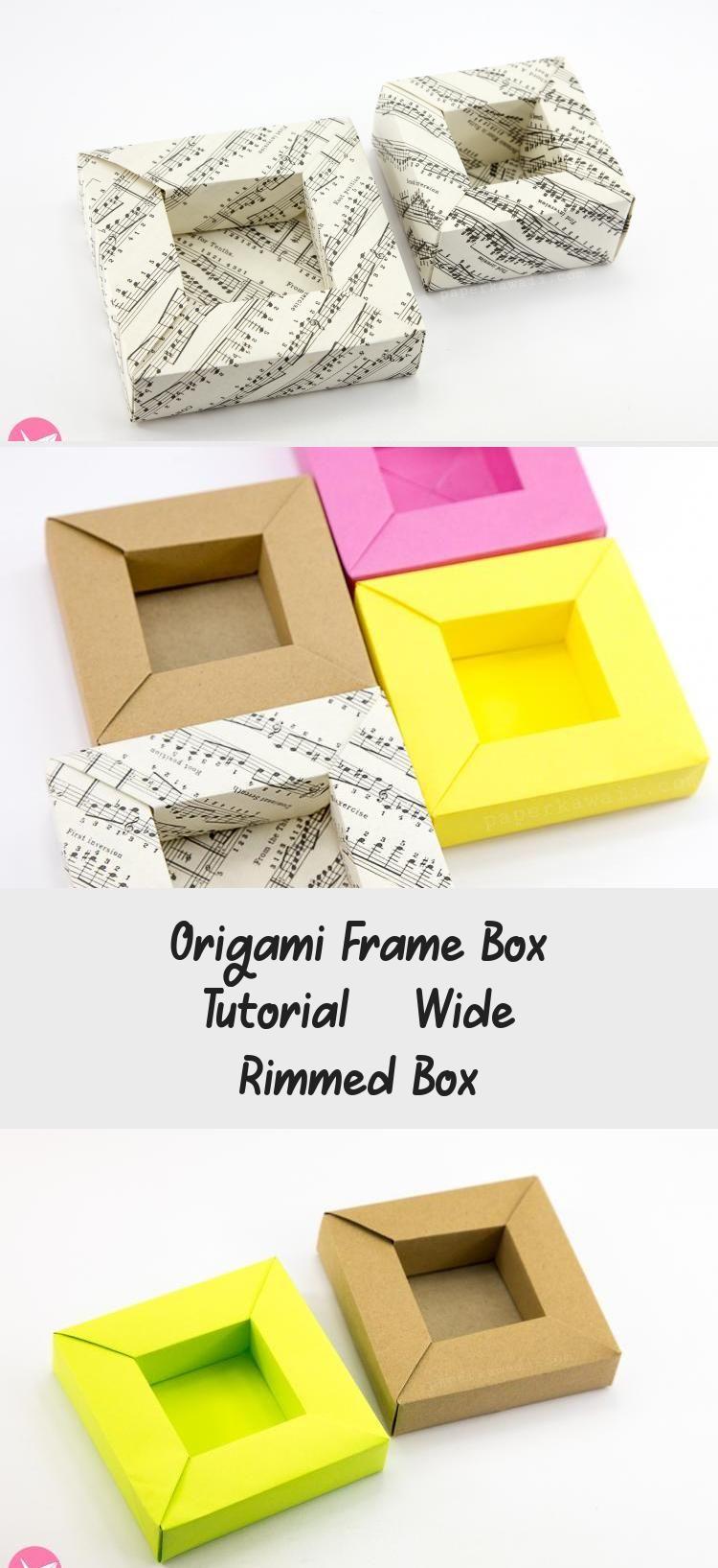 Photo of origami-frame-box-paper-kawaii-05 #origamiDragon #origamiPapillon #Simpleorigami…