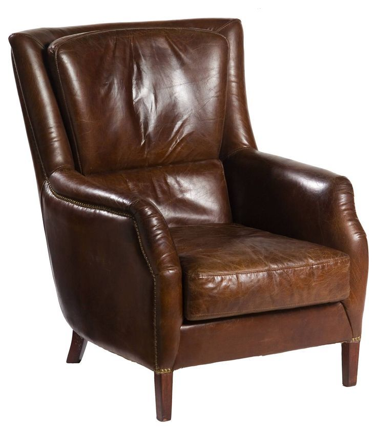 Library Armchair Vintage Cigar In 2020 Leather Armchair Living