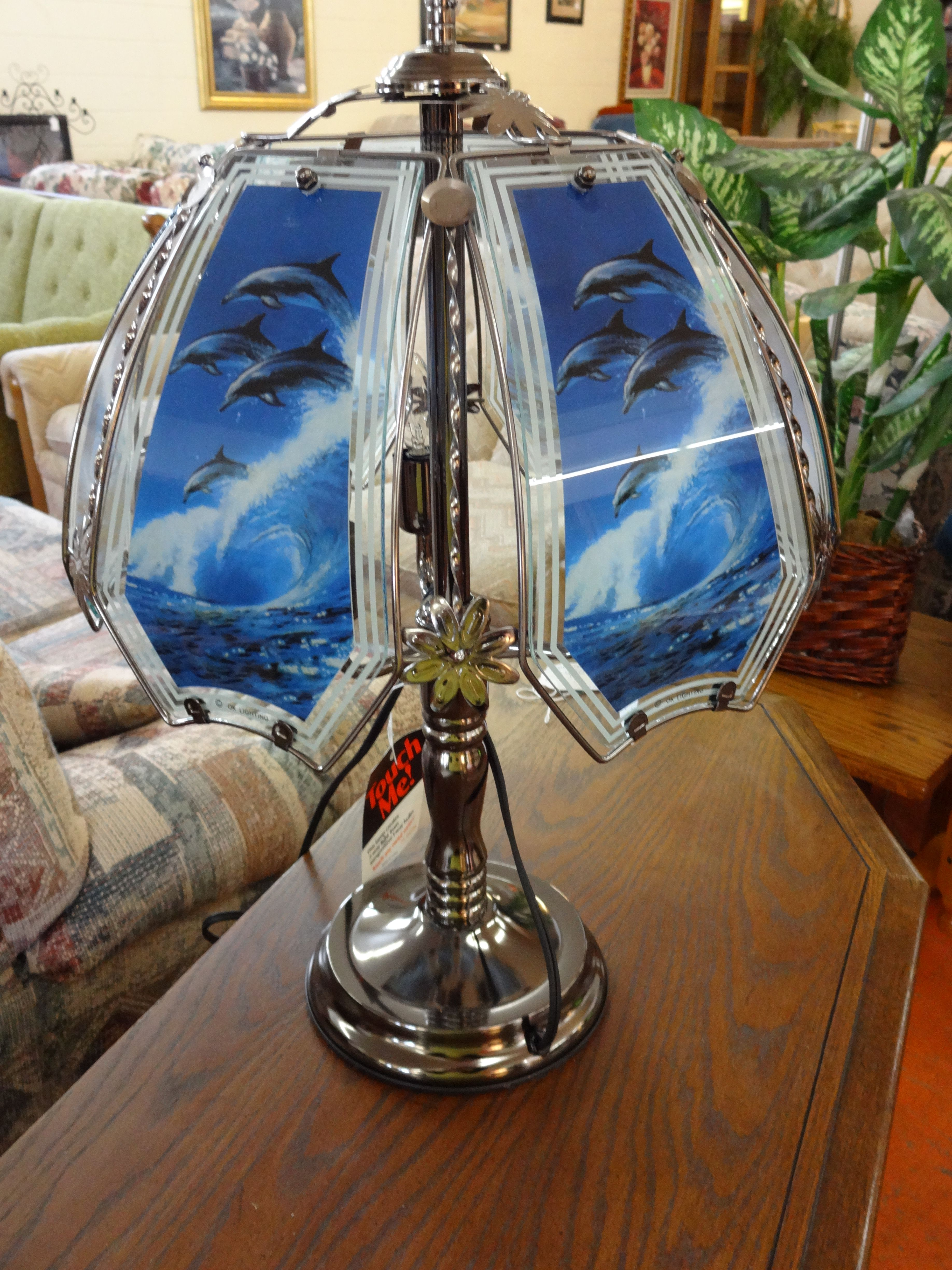 Dolphin Touch Lamp