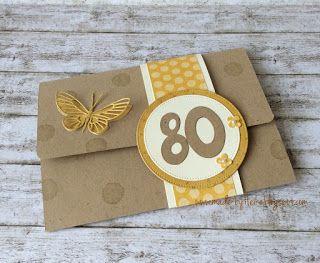 heute möchte ich euch eine karte zeigen,die ich zum 80