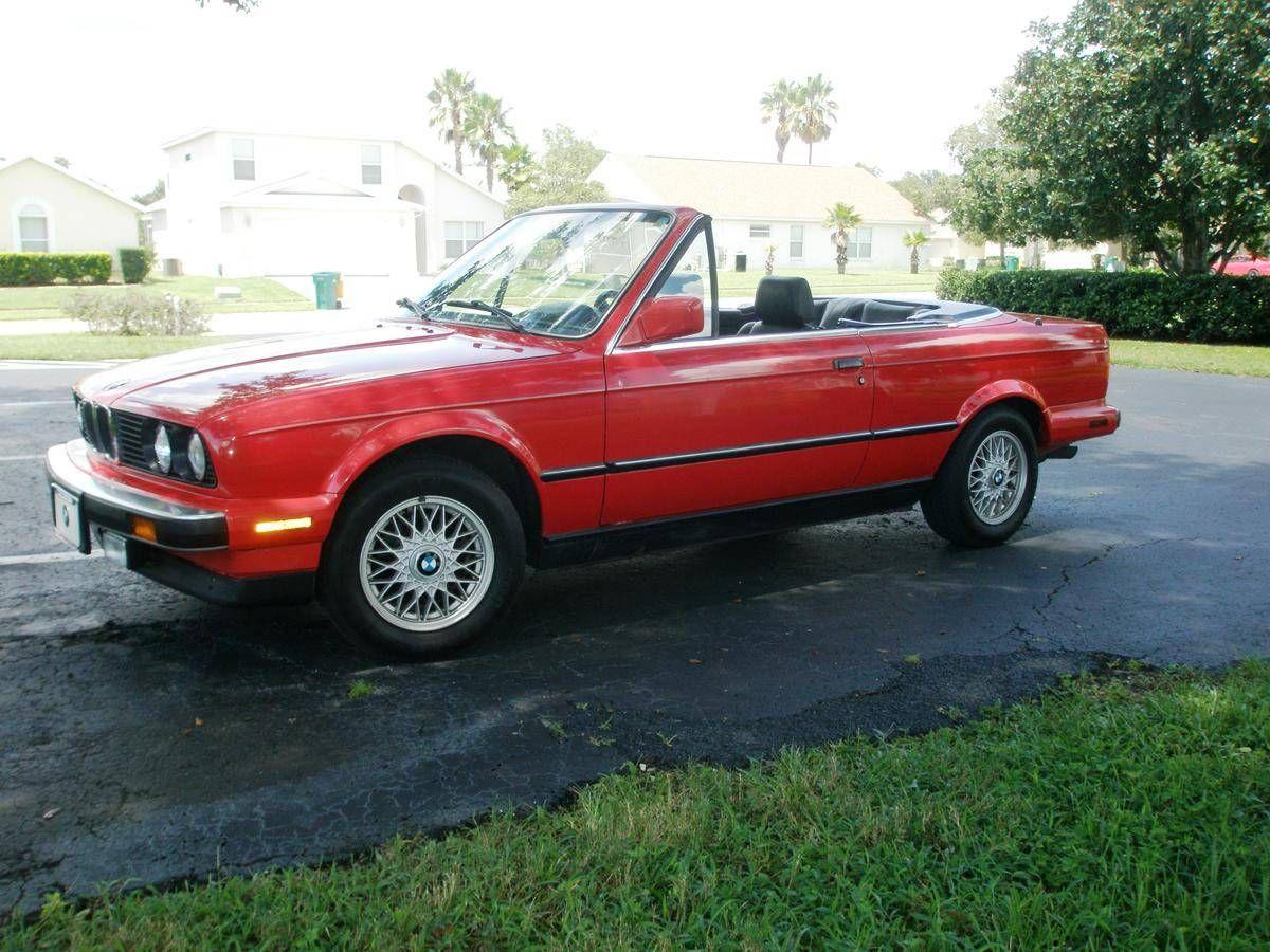 Bmw 325i Cabrio 1990 Bmw Bmw E30 Bmw 318i