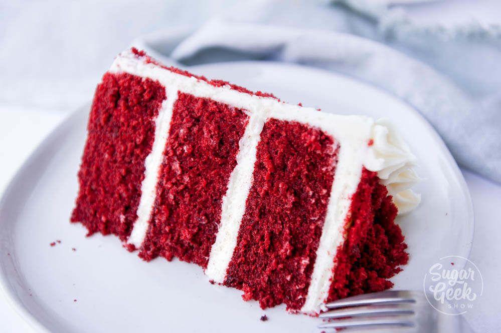 Classic Red Velvet Cake Recipe Cream Cheese Frosting Sugar Geek Show Recipe Velvet Cake Recipes Red Velvet Cake Recipe Red Velvet Cake