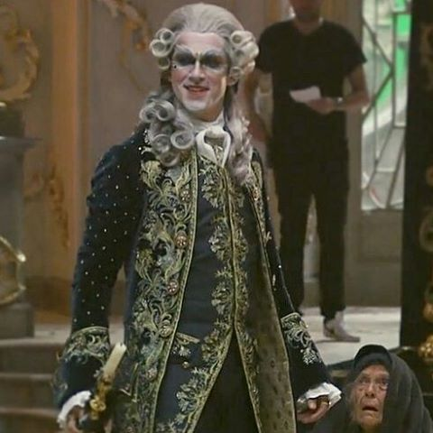 Dan Stevens As The Prince In The Beginning Of Beauty And The Beast