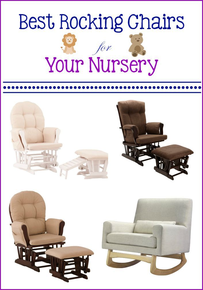 Check Out Our Top Picks For The Best Rocking Chairs Your Nursery That Are Both