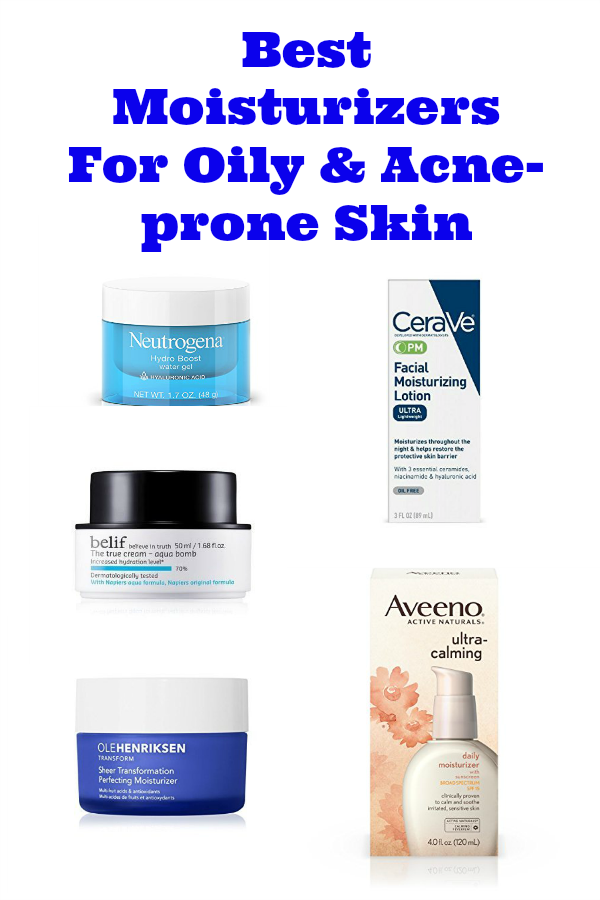 Best Moisturizers For Oily Acne Prone Skin The Clever Side Best Moisturizer Acne Prone Skin Acne Skin