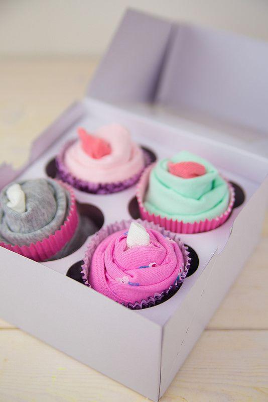 Onesie Cupcake Baby Shower Gift Cadeau Future Maman Cadeau Baby