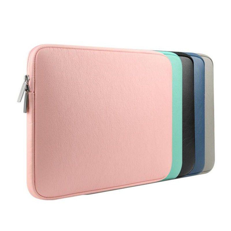 Waterproof Soft Zipper Laptop Bag Sleeve Case For Macbook Air Pro Retina 11 12 13 15 Laptop Case For Macb Laptop Bag Sleeve Macbook Air Case Laptop Accessories