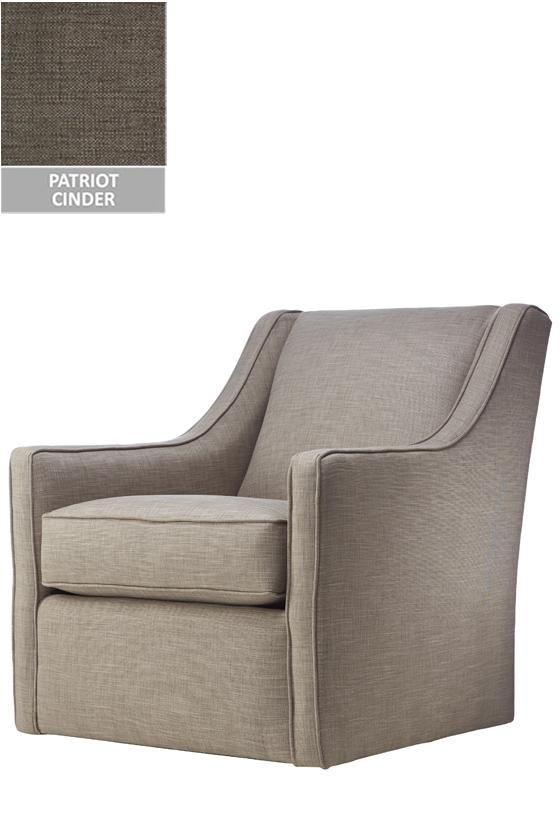 Charmant Custom Khloe Upholstered Swivel Chair $660   Via Homedecorators.com   This  Would Be A Great Bedroom Chair!