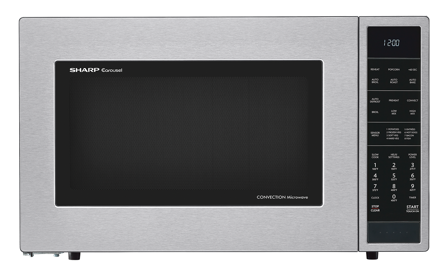 Sharp Carousel Convection Microwave Oven 1 5 Cu Ft 900w