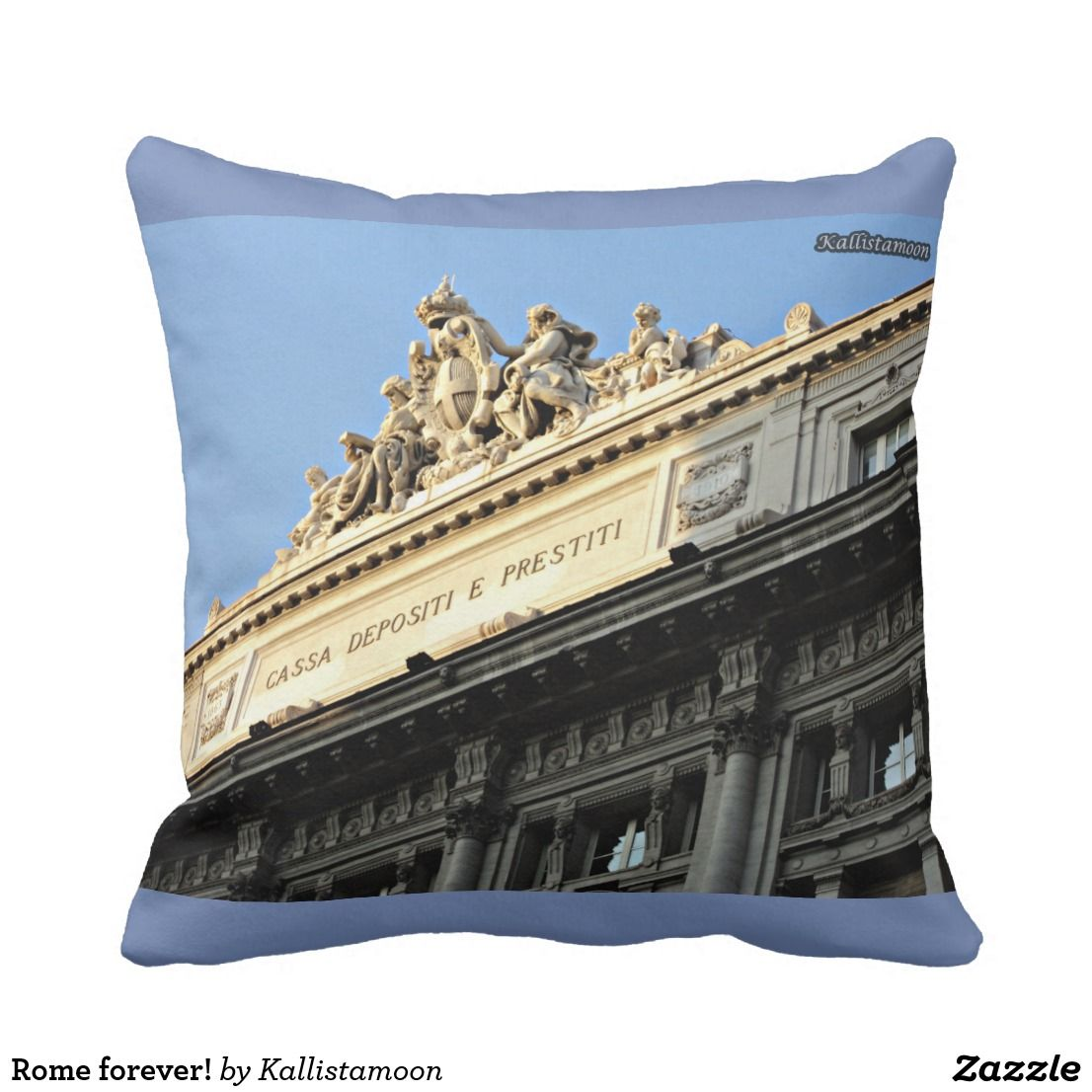 Rome forever cushion rome