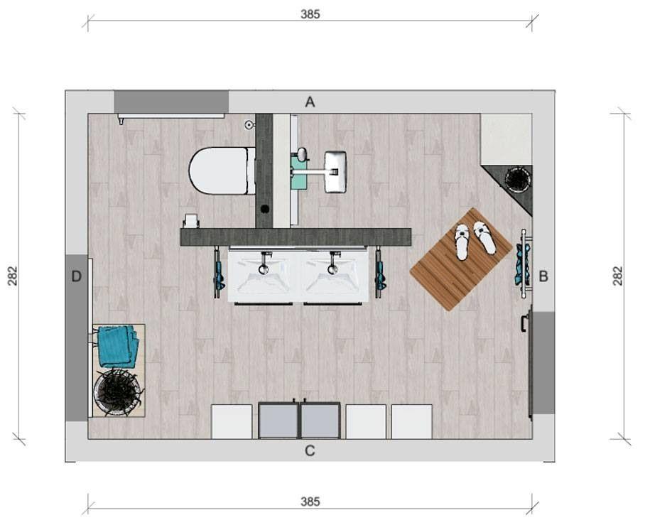 Badezimmer T Wand Grundriss Design Regarding Badezimmer Grundriss In 2020 Badezimmer Grundriss Bad Grundriss Badezimmer T Wand