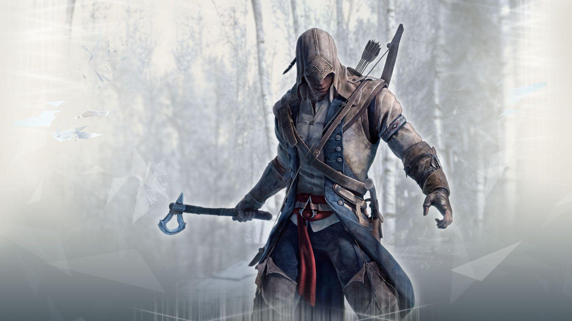 Assassin Wallpaper Assassins Creed Iii Ac3 Assassins Creed 3