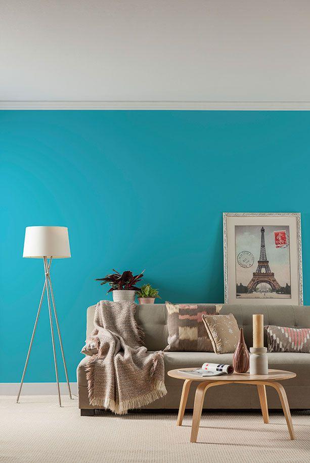 tendances couleurs 2015 la palette bleue des peintures cil d cormag home pinterest. Black Bedroom Furniture Sets. Home Design Ideas