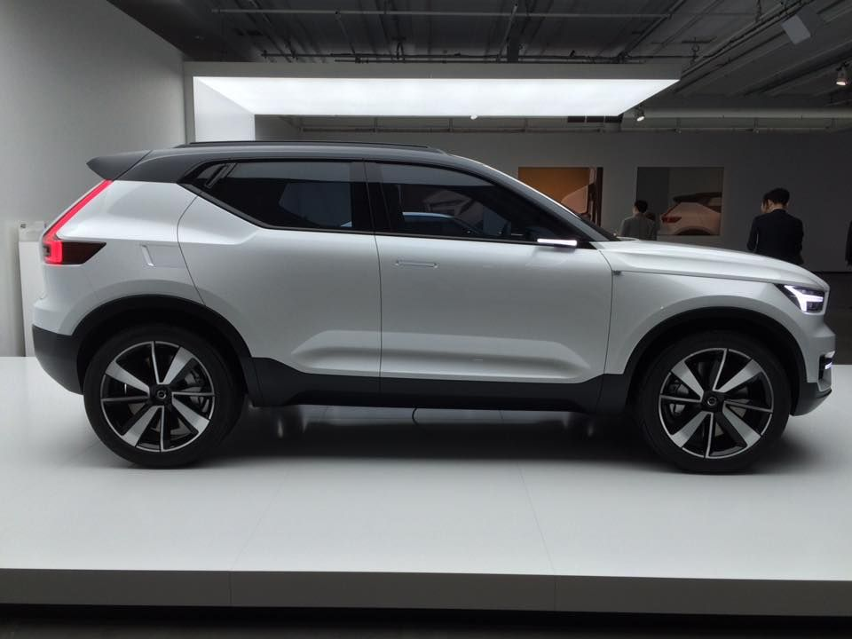volvo xc40 un suv compact et hybride enfin photos volvo compact and crossover. Black Bedroom Furniture Sets. Home Design Ideas