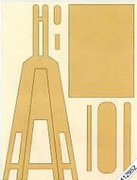 Gabarit pour chevalet en carton cartonnage pinterest chevalet gabarit et carton - Gabarit maison en carton ...