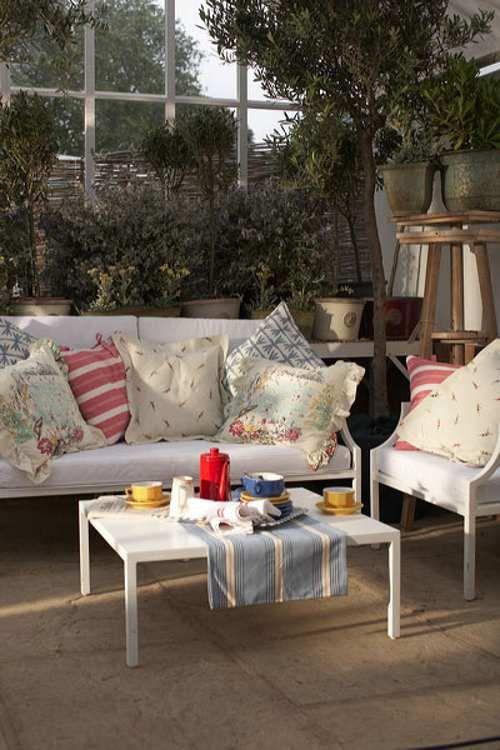 Como Decorar Porche Jardines Invierno Terrazas 10 Terrazas - Como-decorar-un-porche