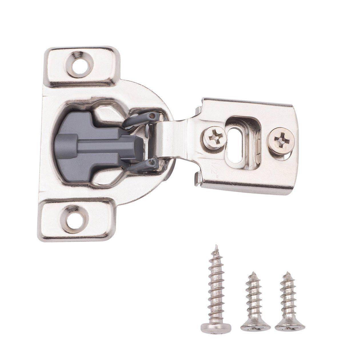 Amazonbasics Soft Close Hinge 1 2 Overlay Nickel Plated 50 Pack Click Image To Review More Details This Is An Aff Overlays Plating Hinges For Cabinets