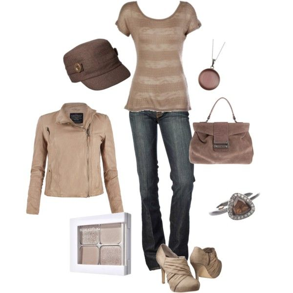 Shades of Brown - Polyvore