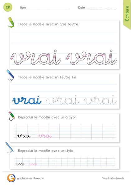 apprendre ecrire en francais pdf
