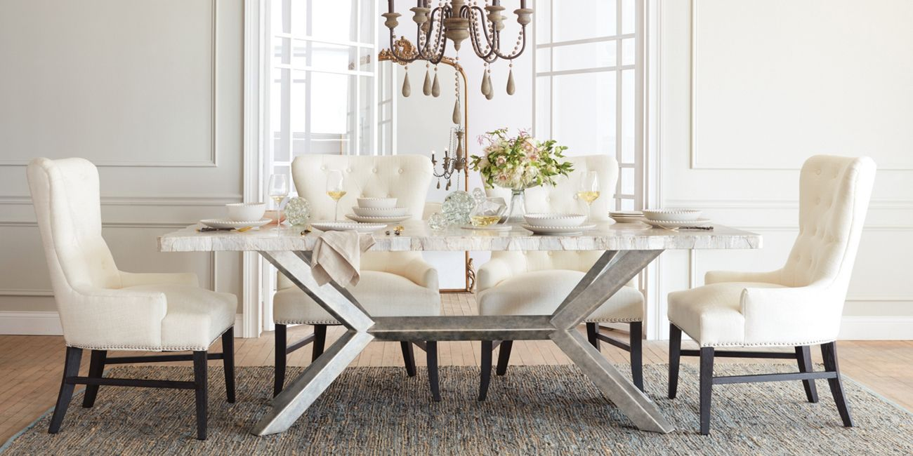 Petra Rectangle Dining Table Arhaus Furniture Rectangle Dining
