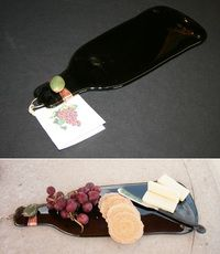 Wine Bottle Platter