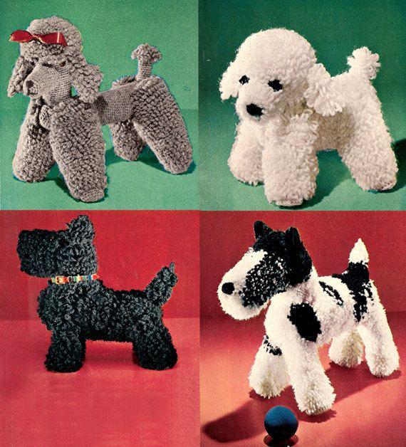 Free Amigurumi Poodle Pattern : Dog crochet patterns los mu�ecos de tejidos