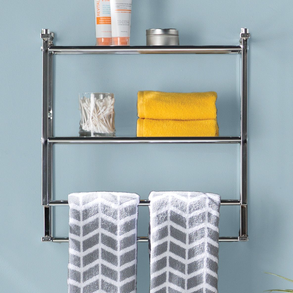 Organize It All Metro Wall Mounted Towel Rack | Shirley Ann ...