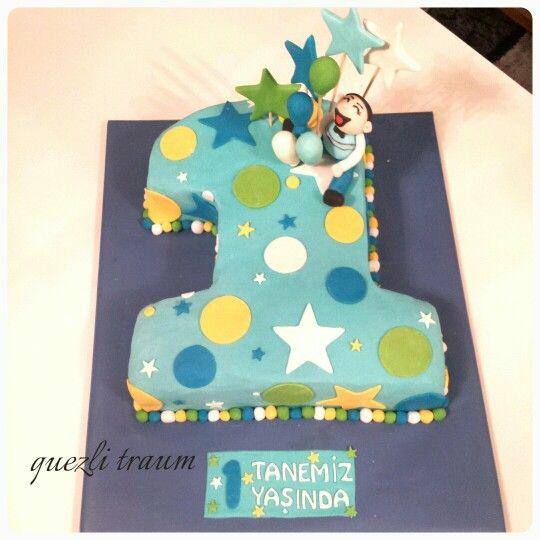 1 Geburtstagstorte Kuchen Geburtstag Geburtstag Torte Junge
