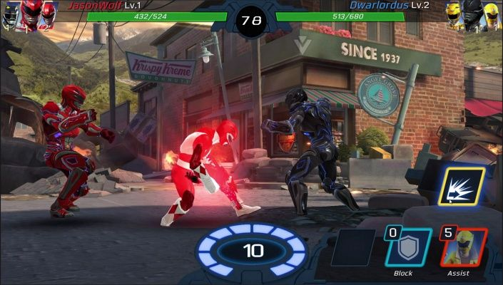 Power Rangers Legacy Wars Is A F2p Android Real Time Multiplayer Action Brawler Game Featuring Fights Against Real Players In R Power Rangers Power Coin Ranger