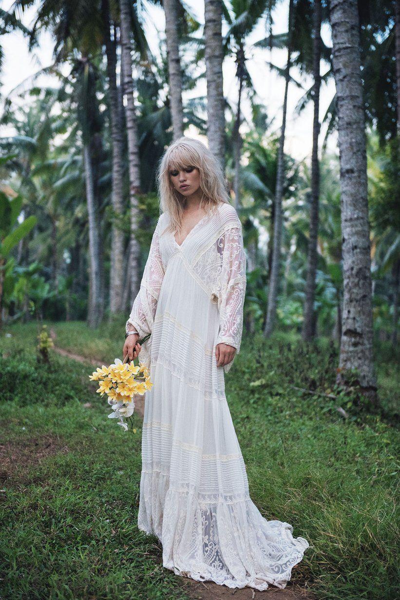 Anja Konstantinova wears Spell Designs The Magnolia Gown   Summer II ...