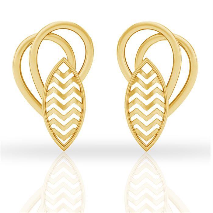 Buy Inga Gold Earring Inga Gold Earring price in India Inga Gold ...