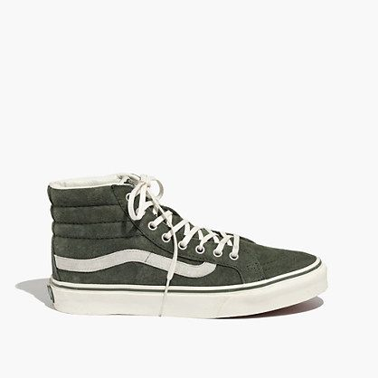 Shop for Vans Sk8 Hi Skate Shoe, Green White, at Journeys Shoes. Your  friends will be green with envy for your sick new Sk8 Hi Sneakers from Vans!