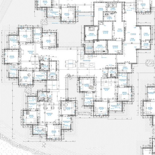 Cluster House Floor Plan: Kaze No Machi Miyabira / Susumu Uno/CAn + Met Architects