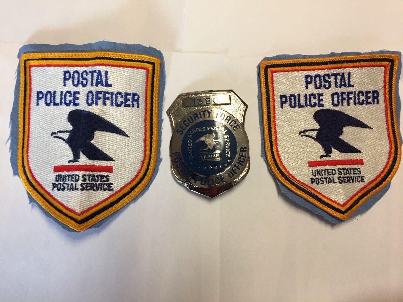 Postal Police Officer Security Force U S Postal Service Postal Police Police Badge Police