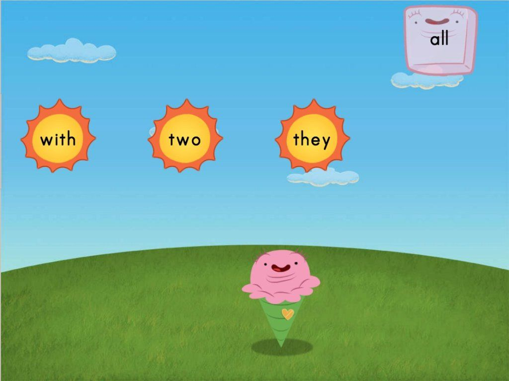 Sight Words Sun Attack: Set 3 | Sight Words Game | Education.com ...