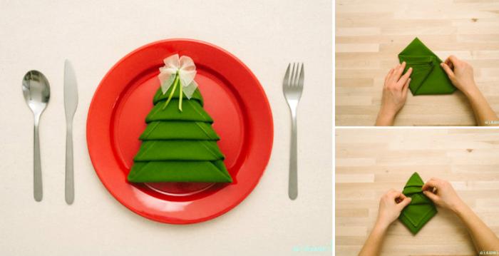 ▷ 1001 + Ideen zum Thema Weihnachtsdeko basteln für den Tisch!