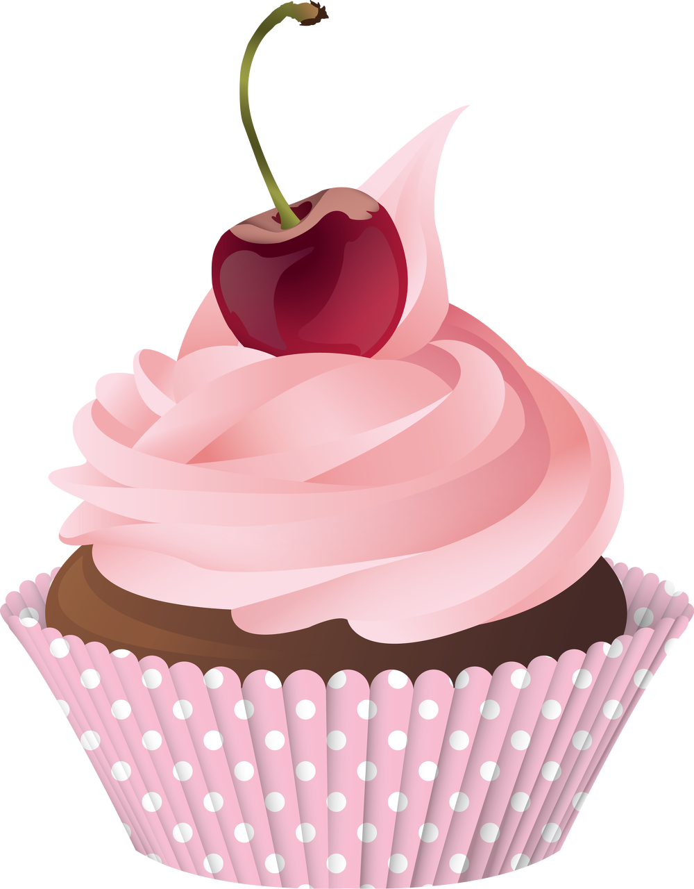 Say it With Cornish Cupcakes... Home Cupcake illustration