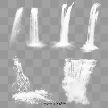 Transparent Waterfall Waterfall All Kinds Flow Png Transparent Clipart Image And Psd File For Free Download Graphic Design Background Templates Photoshop Textures Blur Background In Photoshop