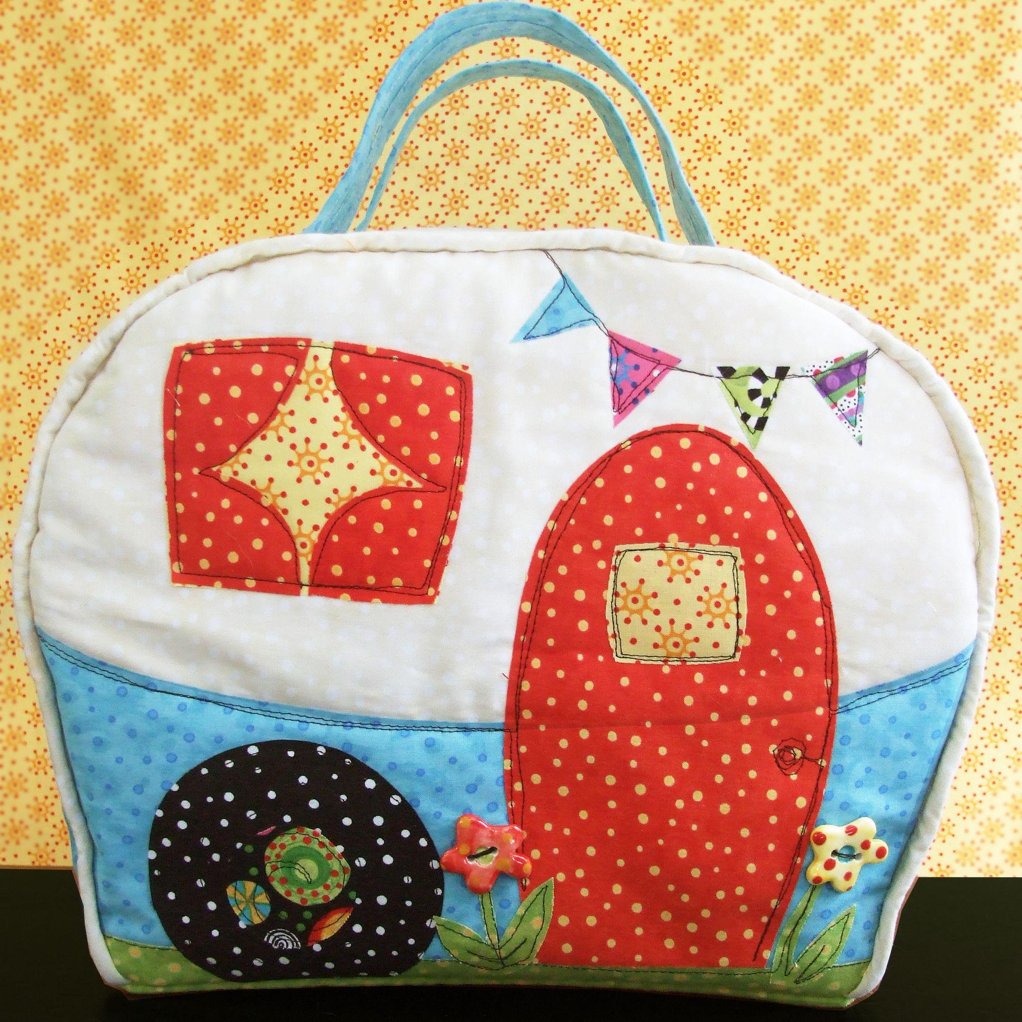 Happy Camper Bag Sewing Pattern | Patchwork