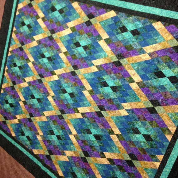 PRETZELED BARGELLO QUILT QUILTING PATTERN From Quilter/'s Clinic NEW