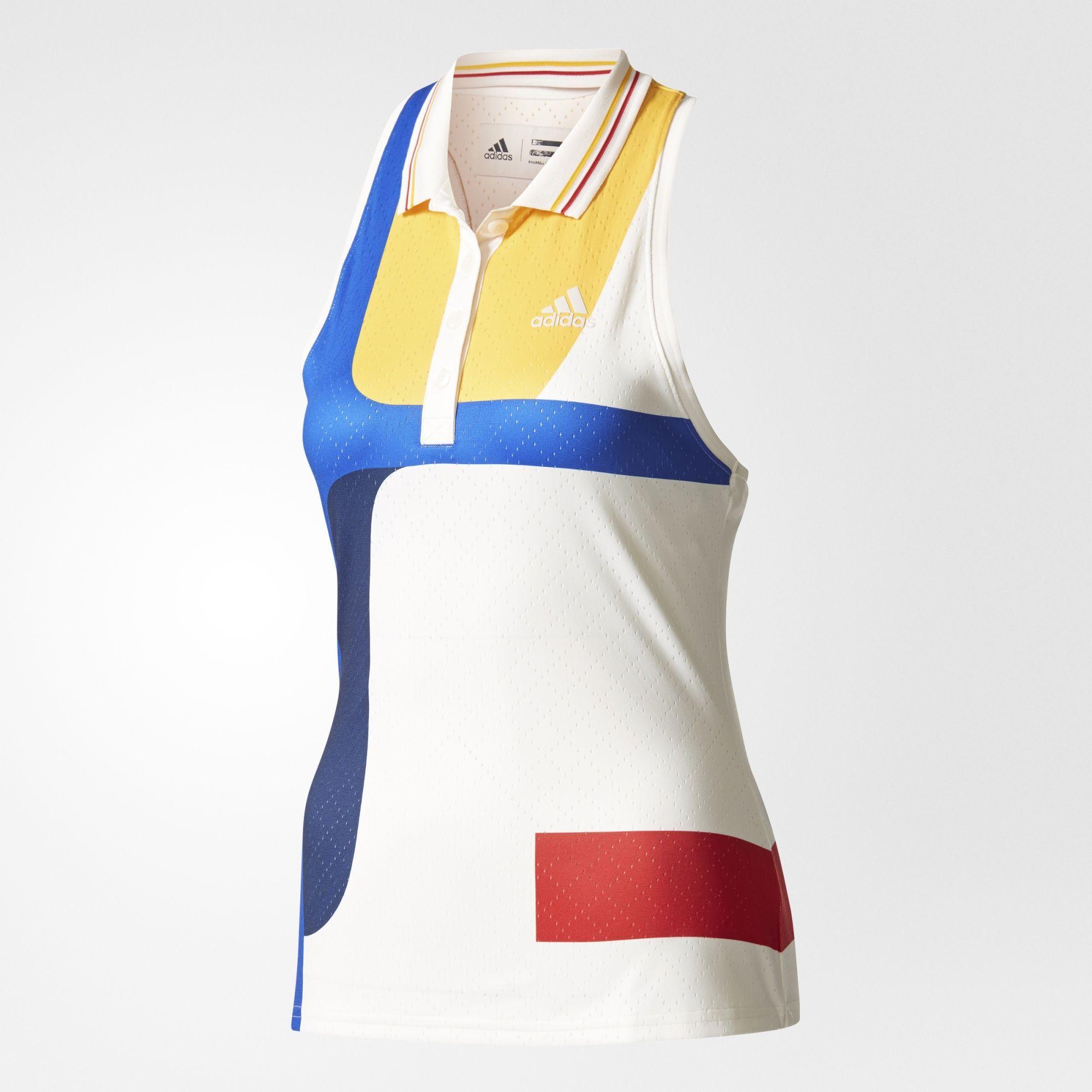 adidas - New York Colorblock Tank Top   Tennis outfit women ...