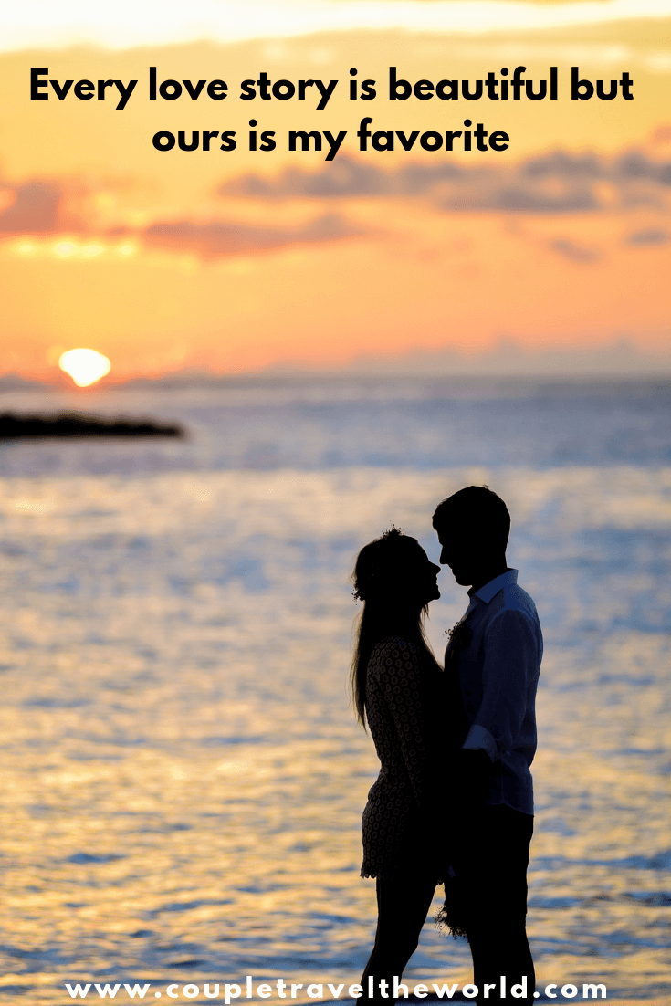 150 Romantic Couple Love Quotes Perfect For Instagram Captions 2019 Cute Instagram Captions Travel Love Quotes Instagram Captions